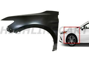 For 2018 2019 Toyota Camry Front Fender Panel Assembly Left Driver Side