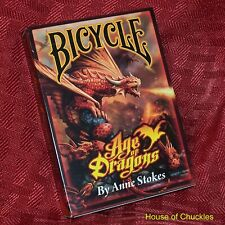 Short Deck, Bicycle Age of Dragons - Magic Card Trick - Gaff Key Cards