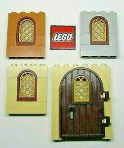 LEGO Castle Doors, Arches & Window Frames - Choose Item - Designs 30044, 64390