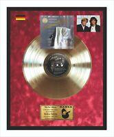 Modern Talking - 1st album Goldene Schallplatte im Rahmen