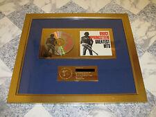 Bruce Springsteen - Original gold CD Award Record