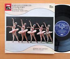 SXLP 30200 Karajan Conducts Tchaikovsky Sleeping Beauty Swan Lake NM/EX Stereo