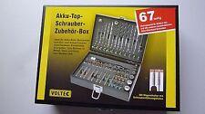Bitbox Bitsatz Bitset Bohrerbox 67 tlg. Akkuschrauberzubehör z.B. für Bosch Ixo