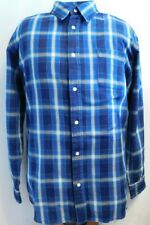 NWT, COVINGTON, Turquoise & Navy Plaid, 100% Heavy Duty Cotton, Size 2XL  #1859