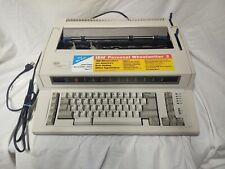 Ibm Lexmark Personal Wheelwriter 2 Electronic Typewriter Tested Amp Working Euc
