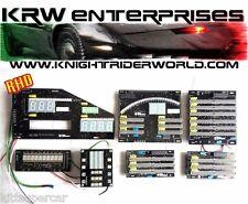 82 PONTIAC FIREBIRD KNIGHT RIDER KITT 2TV DASH ELECTRONICS COMPLETE SET NEW RHD