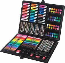 Kids Painting Set Large 250 piece Learn Color Fun Toys Drawing Arts High Quality