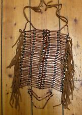 * Quality Native American Chief Indian costume Chest Plate approx 45x25cm