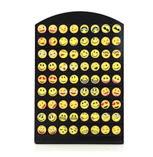 36Pairs New Emoji Earrings Cartoon Smiley Funny Face Stud Earrings From London