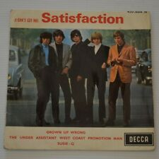 """ROLLING STONES - SATISFACTION - 1969 FRENCH 7"""" EP"""