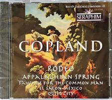 COPLAND - RODEO - SERAPHIM / CEMA SPEC. MKT - CANADIAN CD - STILL SEALED