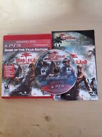 Dead Island -- Game of the Year Edition (PS3, PlayStation 3, 2012) CIB Complete
