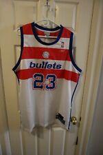 Reebok Hardwood Classics Michael Jordan Washington Bullets basketball jersey XL