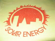 SOLAR ENERGY VINTAGE 1976 TEE SHIRT  SUPER SOFT SUN CITY TEE SHIRT