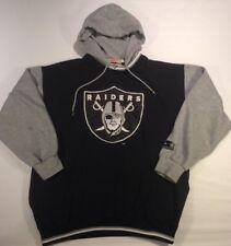 Vtg 1990s Starter Los Angeles LA Raiders Hoodie Sweatshirt Jersey Size Youth XL