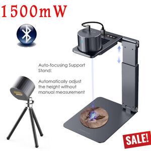 1500mW Laser Graviermaschine DIY Lasergravierer Logo Desktop w/ Electric Bracket
