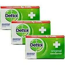 Dettol Bar Soap Hand/Bath  Orignal 75g / 3.88 Oz Pack of 3