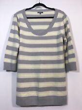 Gap Maternity Sweater Women Size XL Striped Scoop Neck Pullover Wool Blend