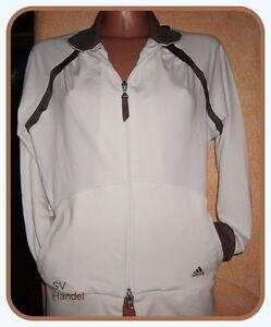 Adidas  Tennis Jacke YA S Tracktop Traningsjacke Weiß (B1)