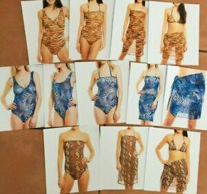 Kiniki Tan Through Dress-Swimwear x 3 designs-Poncho-Bikini Top Brief - BNIP