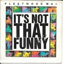 "45 TOURS / 7"" SINGLE--FLEETWOOD MAC--IT'S NOT THAT FUNNY--1979 ""UK PRESS"""