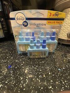 Febreze plug in refill 3 pack
