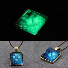 Pyramid Natural Luminous Beauty Pendant Fantasy Luminous Star Necklace Cool_gu