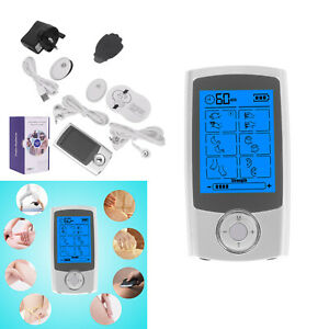 Rechargeable Tens Machine Digital Therapy Full Massager Pain Relief Acupuncturec