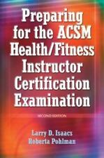 Preparing for the Acsm Health/Fitness Instructor Certification-ExLibrary