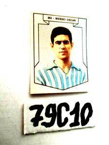 figurina calcio IMPERIA 1965-66  N° 203 OSCAR MASSEI SPAL NUOVA    79C-10
