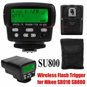 Debao SU800 Wireless TTL Speedlight Flash Trigger Slave for Nikon SB910 SB800