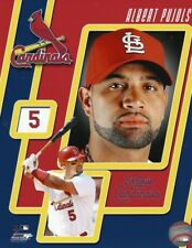 ALBERT PUJOLS ST. LOUIS CARDINALS MLB OFFICIAL LICENSED 8X10 Baseball PHOTO