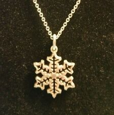 Tiffany & Co. Sterling Silver Snowflake Holiday Winter Charm