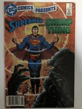 Dc Comics Presents 1985 #85 Superman Swamp Thing Alan Moore
