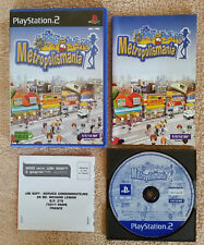 metropolismania PS2 / complet . Fr . rare