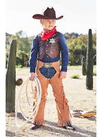 Cowboy Costume Boys Chasing Fireflies Size 4 (S)