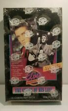 Elvis The Elvis Collection Series Two Collectible Trading Card Pack Box 1992