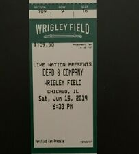 Dead and Company Tickets Wrigley Field Chicago SATURDAY 6/15/19