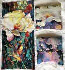 Flanders Flemish Tapestry Throw Pillowcase Set Bright Bold Floral Belgium