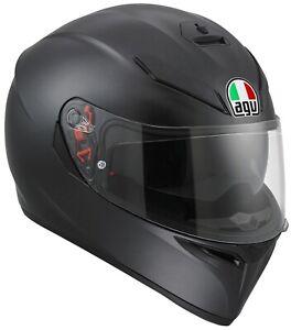 AGV K-3 SV Motorradhelm Integralhelm Sturzhelm Sport Racing Helm matt schwarz