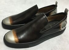 Oliver Sweeney Cova Black/Copper/Silver Limited Edition Slip on Shoes. UK 9.