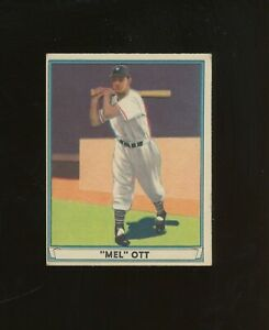 1941 Play Ball Playball #8 Mel Ott New York Giants