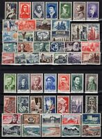 PP137257/ FRANCE – YEARS 1954 - 1958 MINT MH SEMI MODERN LOT – CV 146 $