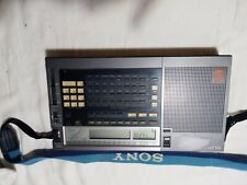 Sony ICF-2010 Short Wave Radio, Portable Synthesized Receiver AIR/FM/LW/MW/SW
