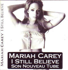 CD SINGLE Mariah CAREY	I still believe 2-Track CARD SLEEVE   FRENCH STICKER	RARE