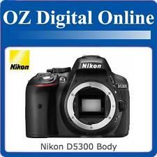 NEW Nikon D5300 BODY 24MP Full HD DSLR Camera with 1 Year Au Warranty