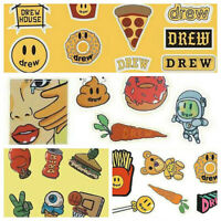 Restock -Sticker Combo 4 Styles 12 Sheets For Justin Bieber Drew House Fans Gift