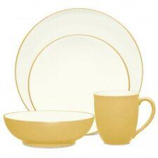 Noritake Colorwave Mustard Coupe 32Pc Dinnerware Set, Service for 8