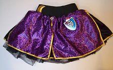 NWT Monster High Girls One Size Clawdeen Wolf Satin Leopard Dress-Up Petti Skirt