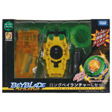 Beyblade Burst B-124 Long Bey Launcher Left Spin Set w/ Carabiner Grip
